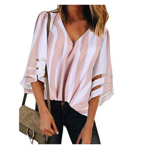 Fashion V Neck  Shirt