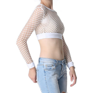 Solid Colored Mesh Top