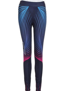 Geometric Print High Waist Legging