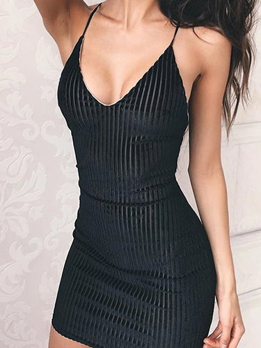 Mini Skinny Bodycon Dress