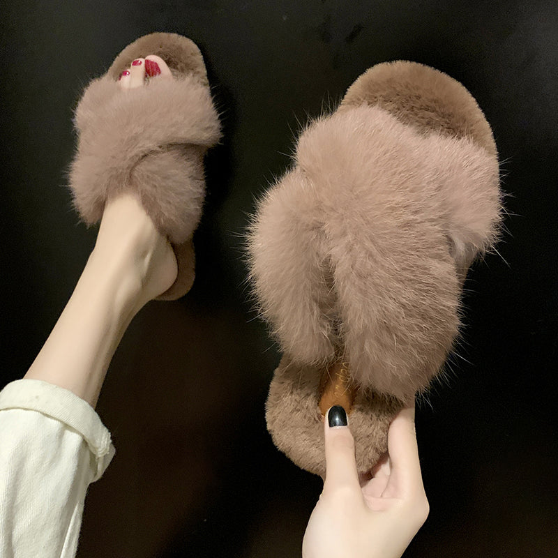 Fleece Plush slippers