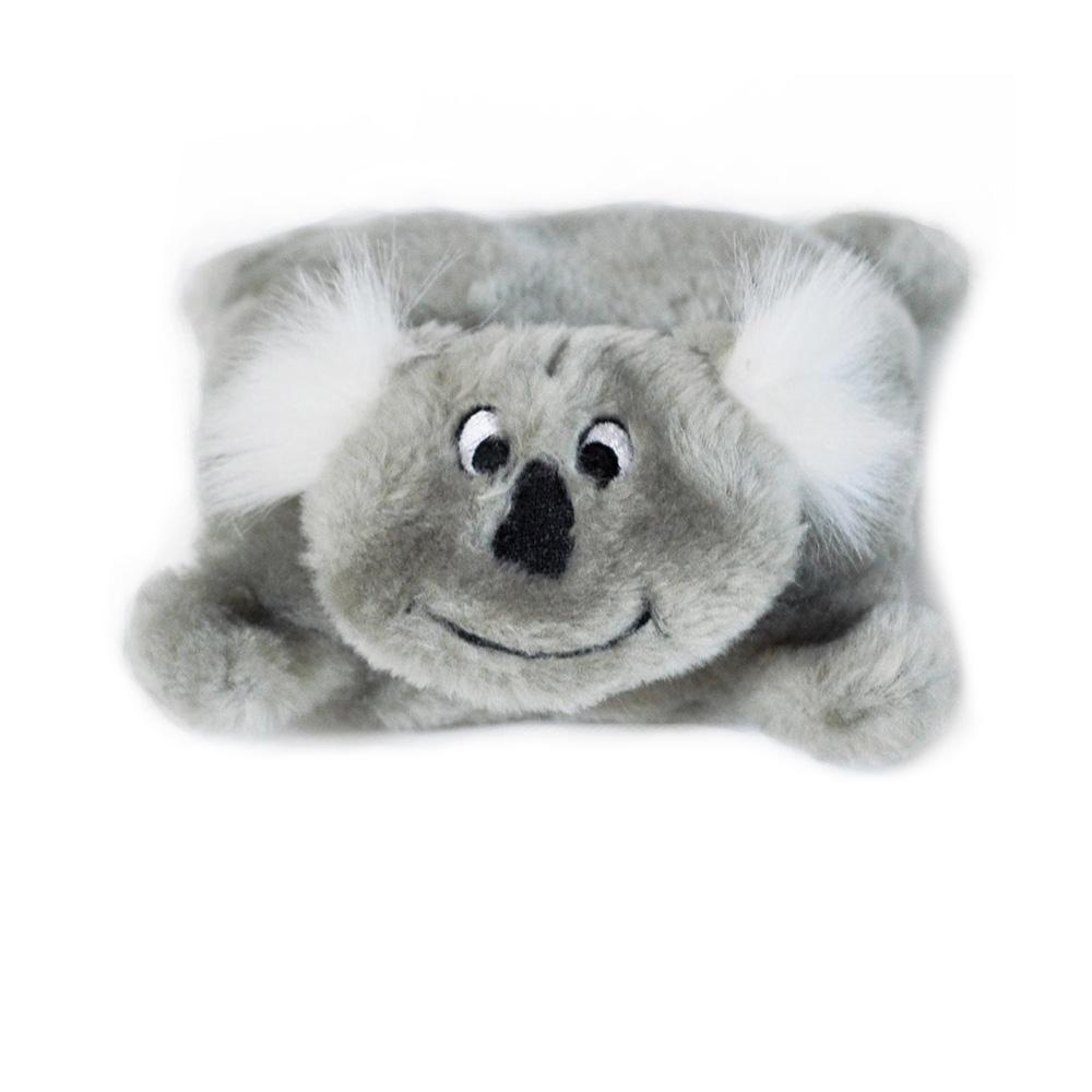 ZippyPaws Squeakie No Stuffing Koala Toy