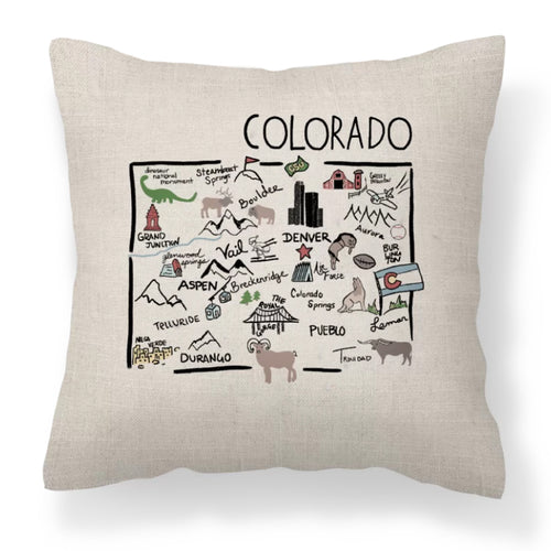 Colorado Decorative Pillow - Elise and James Home