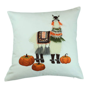 Harvest Llama Pillow - Elise and James Home