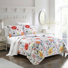 Load image into Gallery viewer, Lillie Microfiber Quilt Set