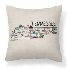 Load image into Gallery viewer, Tennessee Decorative Pillow - Elise and James Home
