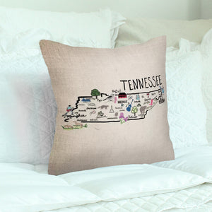 Tennessee Decorative Pillow