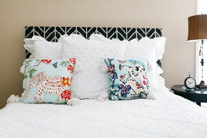 Breezy Elephant Pillow Cover - Elise and James Home