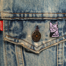 Load image into Gallery viewer, Famous Class Cat Soft Enamel Pin