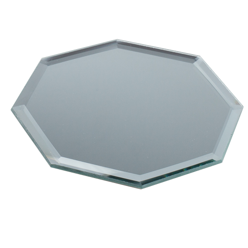 Eastland Octagon Mirror Table Décor 5 inch Set of 12