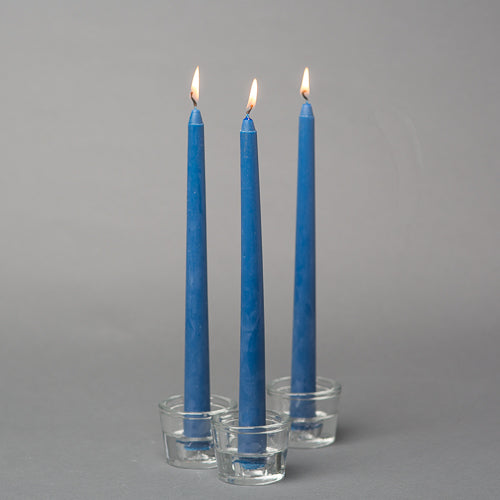 Richland Navy Blue Taper Candles