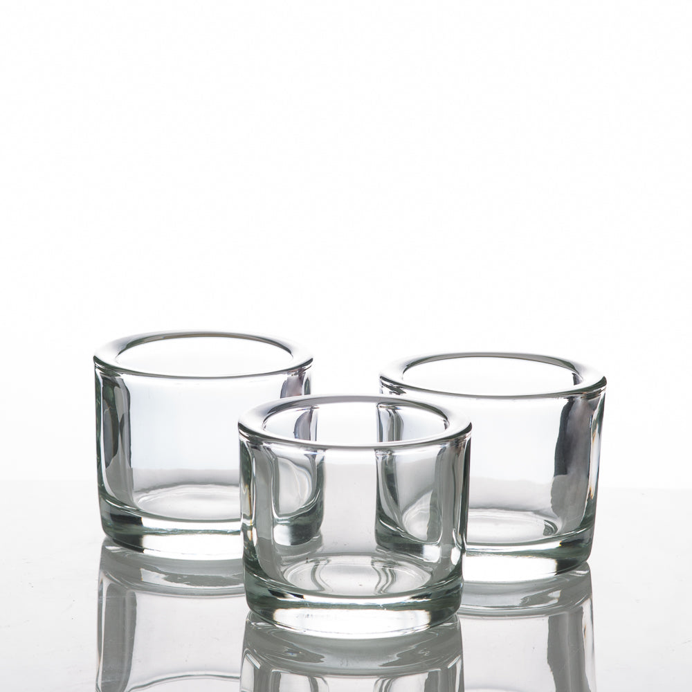 Richland Clear Large Votive Holders