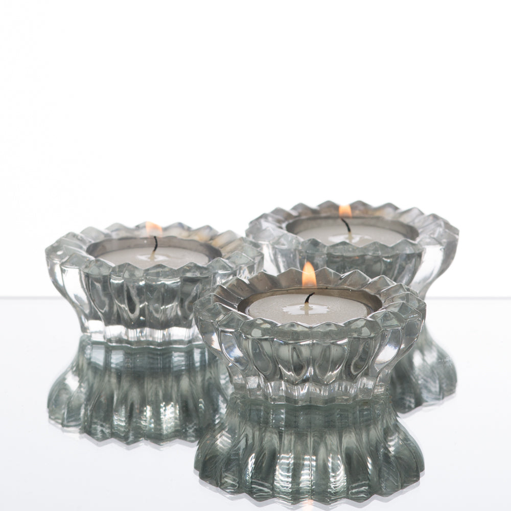 Richland Dainty Mirrored Tealight Candle Holder