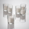 Eastland Clear Votive Holders