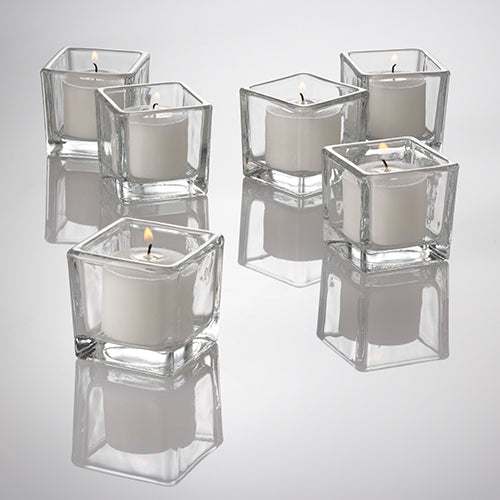 Eastland Clear Square Votive Holders