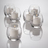 Eastland Clear Petite Hurricane Votive Holders
