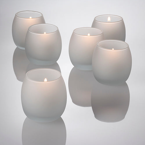 Eastland Frosted Petite Hurricane Votive Holders