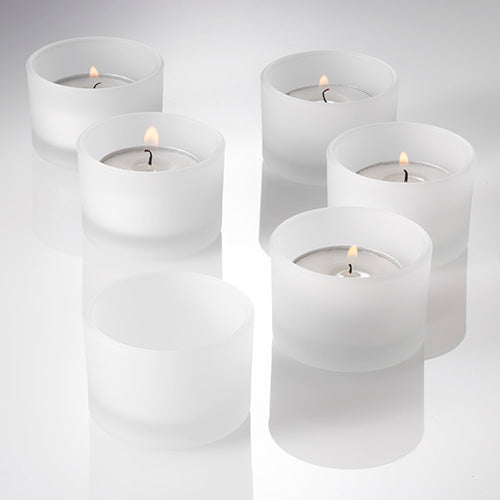 Eastland Frosted Tealight Holders