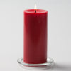 Richland Red Church Pillar Candle