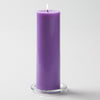 Richland Lavender Church Pillar Candle