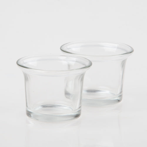 Eastland Oyster Cocktail Glass Votive Holder