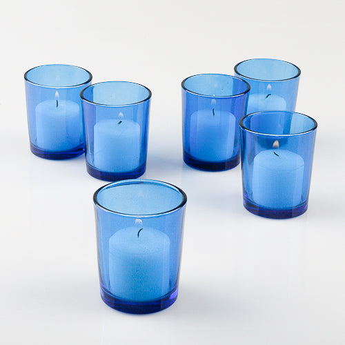 Eastland Votive Holders Blue