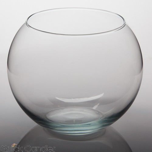 "Eastland Bubble Ball Vase 8"" Set of 2"