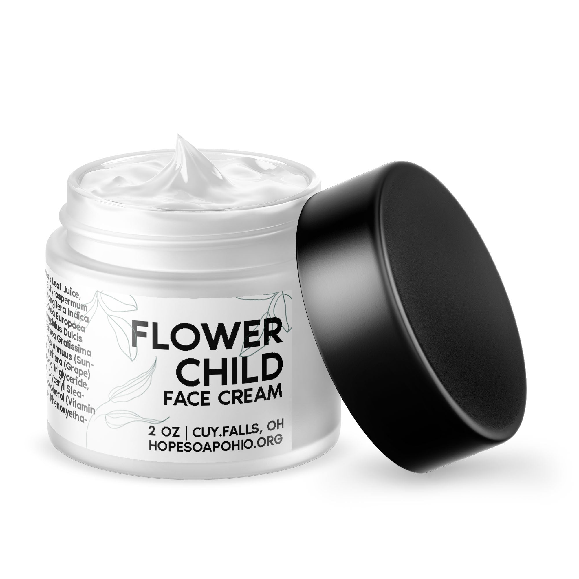 Flower Child Face Cream - HOPESOAPOHIO
