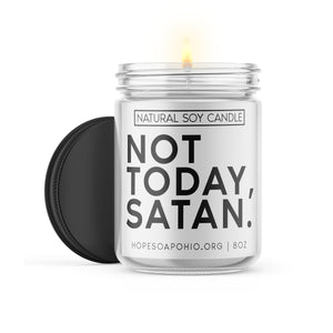 Not today, satan candle. - HOPESOAPOHIO
