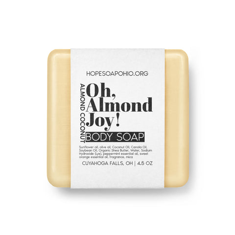 Oh, Almond Joy Body Soap - HOPESOAPOHIO