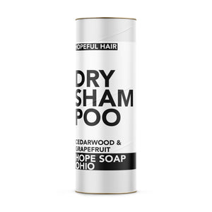 Dry Shampoo (Grapefruit and Cedarwood) - HOPESOAPOHIO