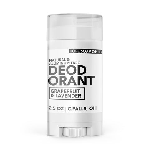 Plant Powered Deodorant - HOPESOAPOHIO