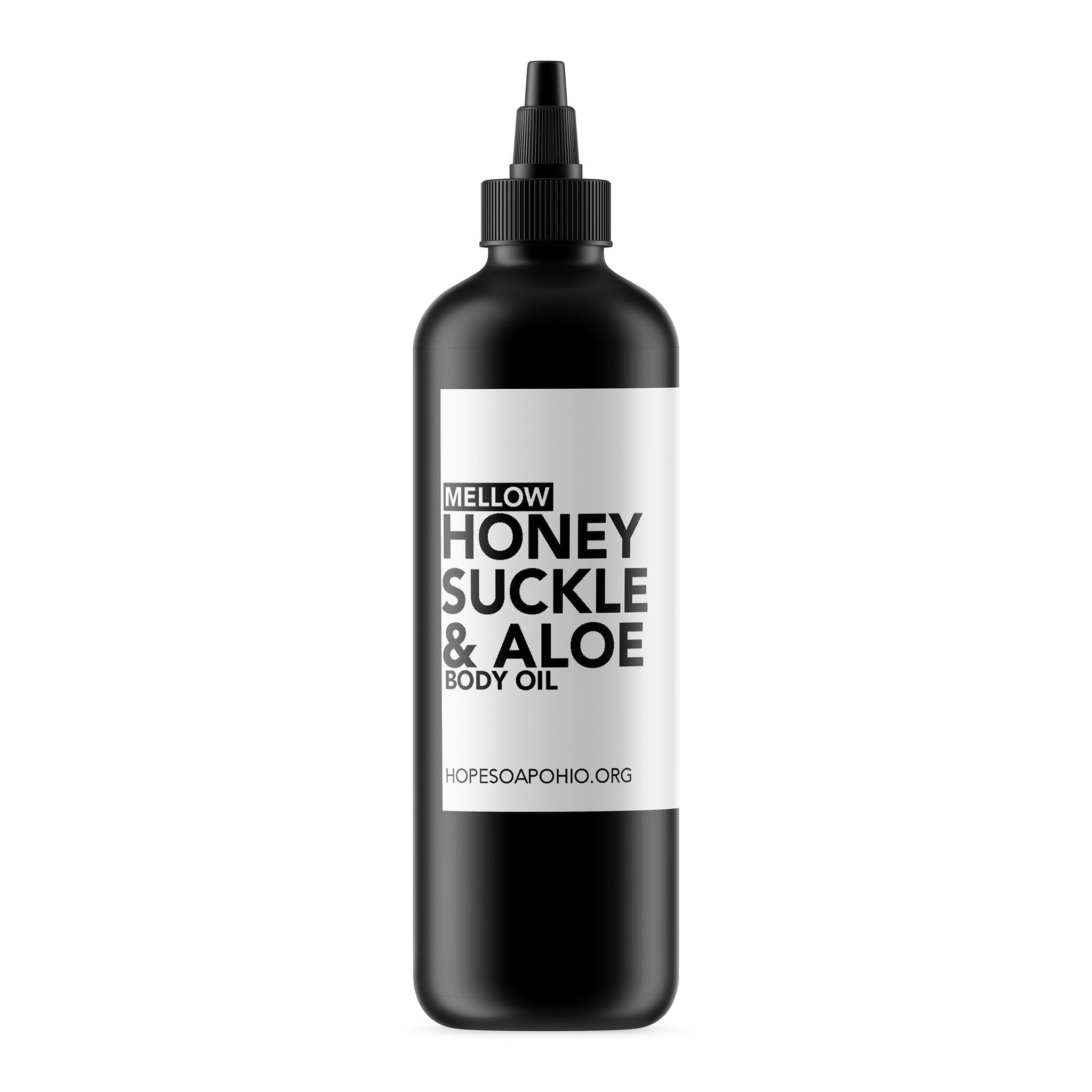 Honeysuckle & Aloe Body Oil - HOPESOAPOHIO