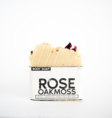 Rose & Oakmoss Body Bar - HOPESOAPOHIO