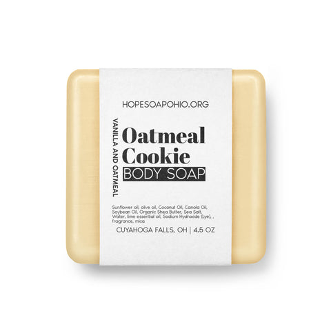 Oatmeal Cookie Body Soap - HOPESOAPOHIO