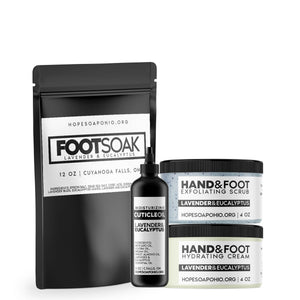 PEDemic Hand and Foot Care Kit - HOPESOAPOHIO