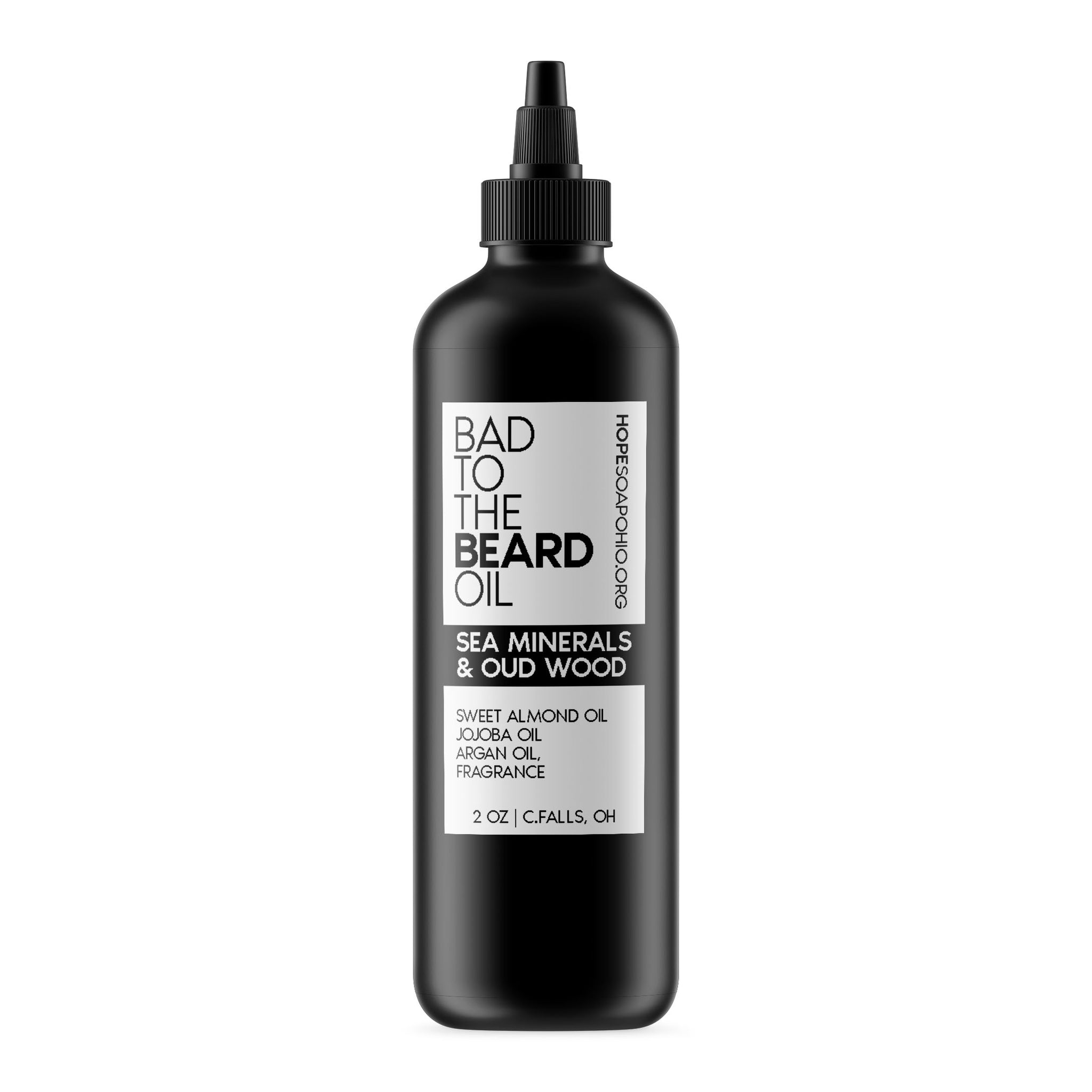 Beard Oil (Sea Minerals & Oud) - HOPESOAPOHIO