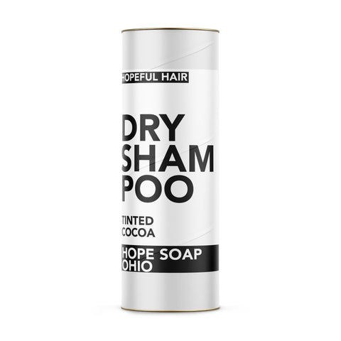 Dry Shampoo (Tinted Cocoa-for Dark Hair) - HOPESOAPOHIO