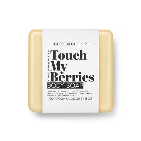 Touch My Berries Body Soap - HOPESOAPOHIO