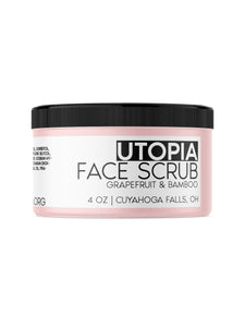 Utopia Face Scrub - HOPESOAPOHIO