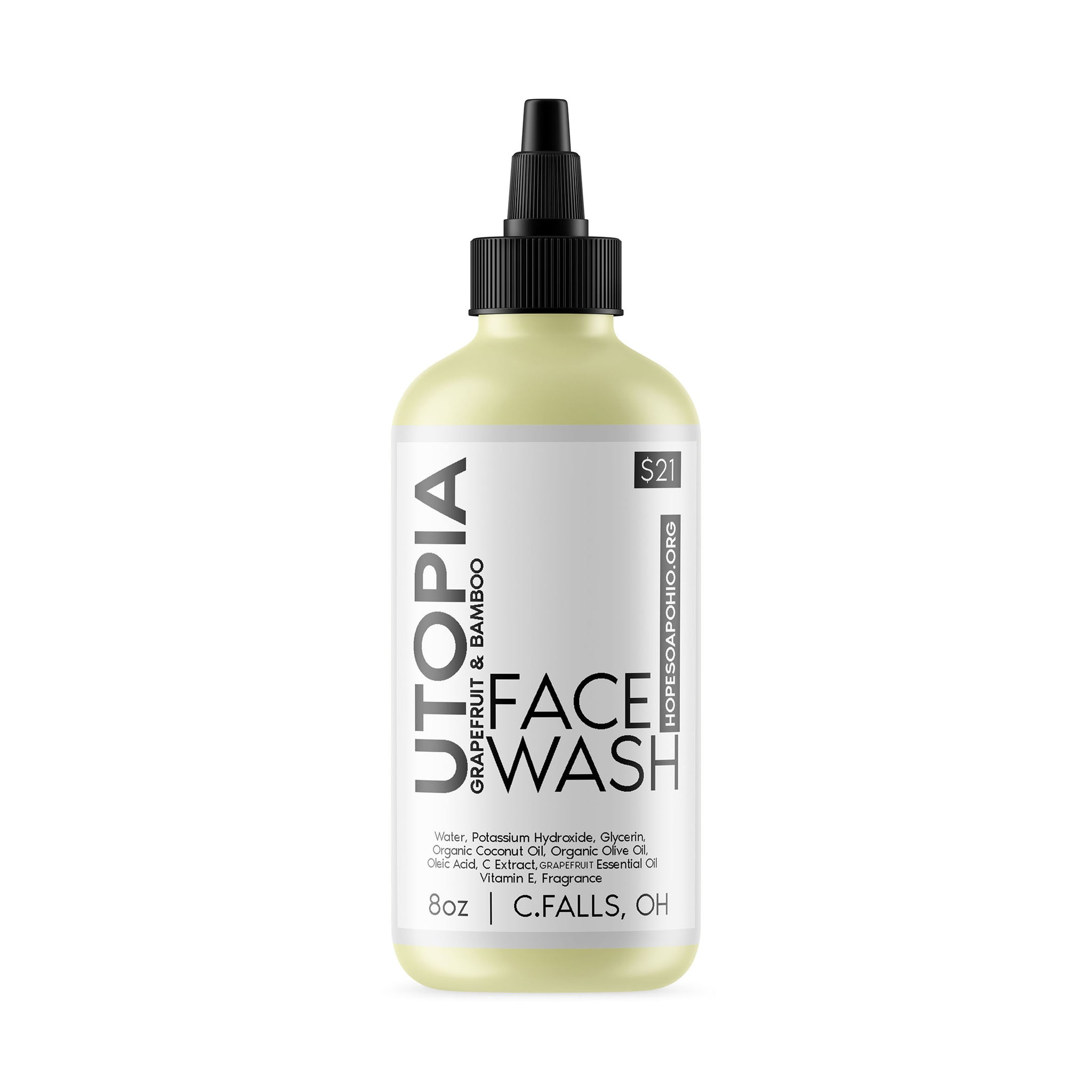 Utopia Face Wash - HOPESOAPOHIO