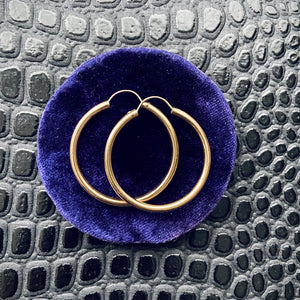 Goldfill Hoop Earrings