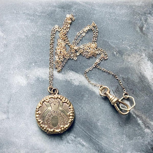 Decorative Antique Locket Necklace