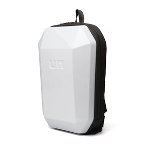 Stealth Backpack L White angle in