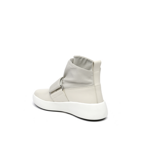 flux sneaker white angle in