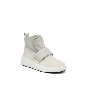 flux sneaker white angle out