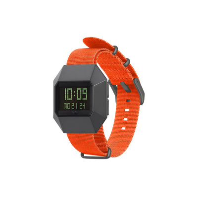 stealth digital nylon orange front view