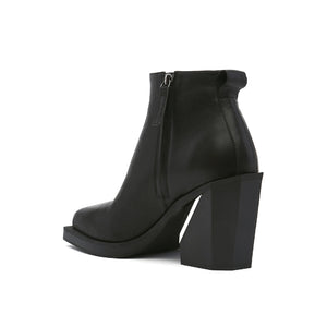 SRxUN Ankle Boot Mens Black angle in view