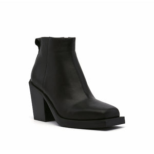SRxUN Ankle Boot Mens Black angle out view
