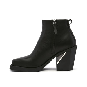 SRxUN Ankle Boot Mens Black in view